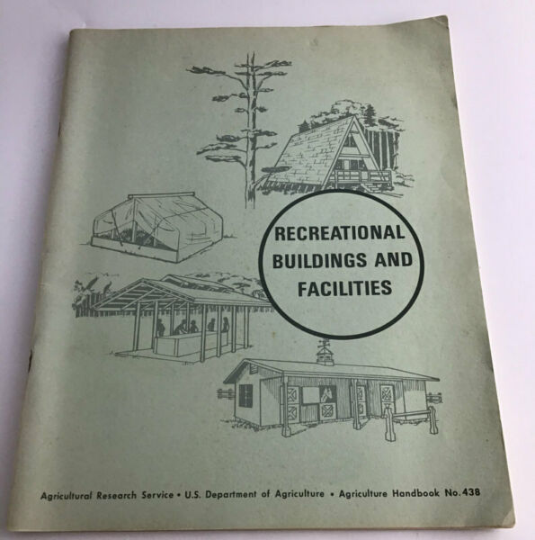 1972 blueprint plans for log cabins horse ring stalls barn greehouse and pits