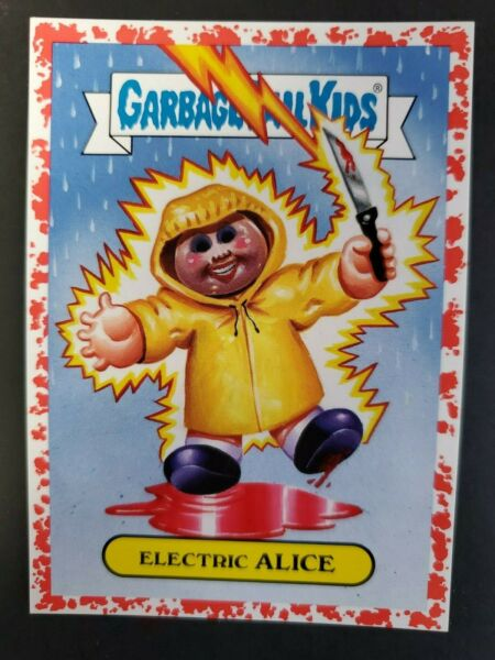2019 Garbage Pail Kids Revenge Of Oh The Horror-ible Cult 1a Electric Alice