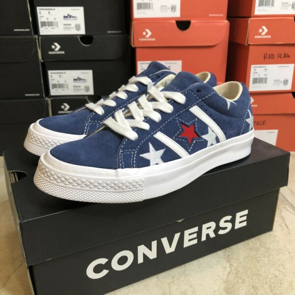 Converse One Star Flag Shoes Womens size 5 BRAND NEW