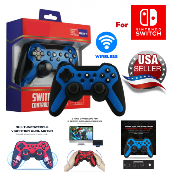 Nintendo Switch Pro Controller Turbo Function Bluetooth wireless joypad joystick