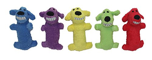 Multipet International Original Loofa Dog Mini 6-Inch Dog Toy Assorted colors $4.40