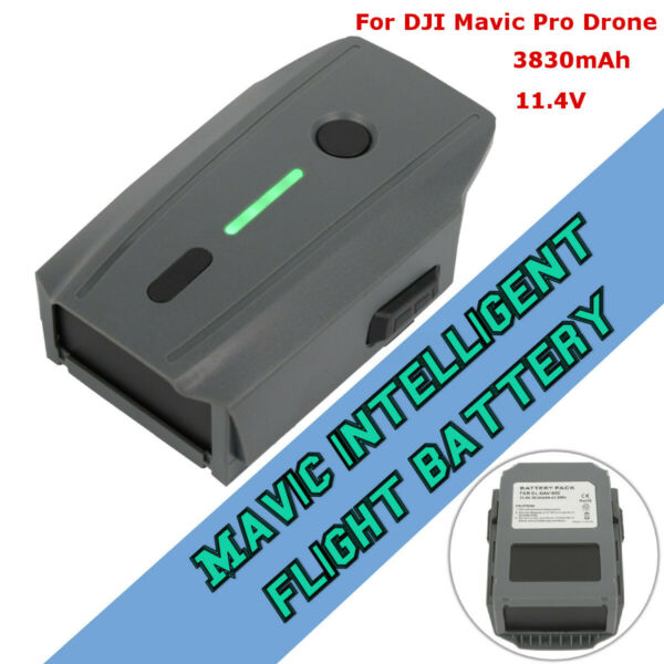3830mAh 11.4V Intelligent Flight Li-ion Battery FOR  DJI Mavic Pro Drone