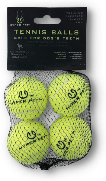 Hyper Pet Mini Tennis Balls For Dogs Pet Safe Dog Toys For Exercise And Trainin $8.30