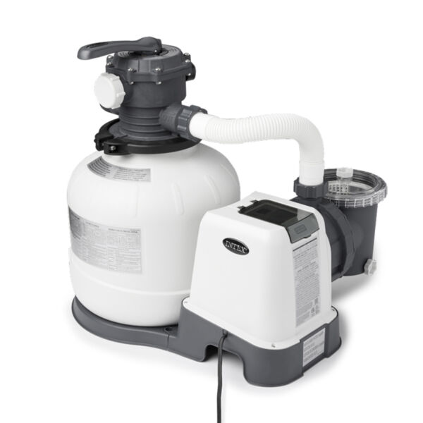 Intex 26647EG 2800 GPH Above Ground Pool Sand Filter Pump with Automatic Timer $489.99