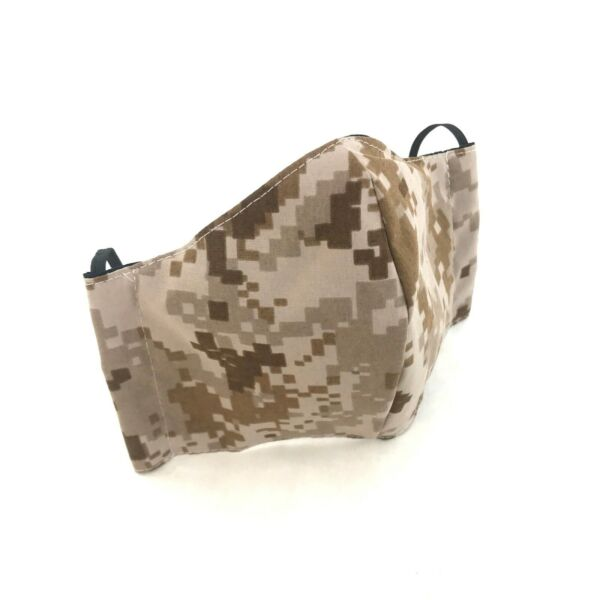 AOR1 Cloth Face Mask Military Navy NWU Reusable Washable Camo Cover MEDIUM $12.99