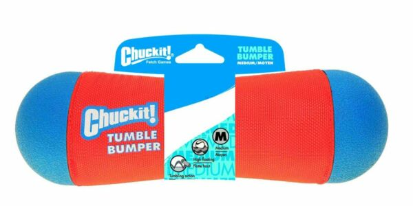 Chuckit TUMBLE BUMPER Medium Fetch Toy - Land and Water - Pack of 2 $17.98