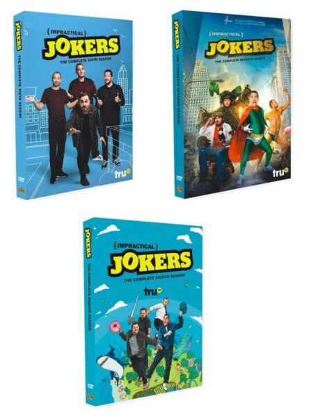Impractical Jokers: Complete Seasons 6 7 8 (DVD 12-disc set) Free and Fast Ship