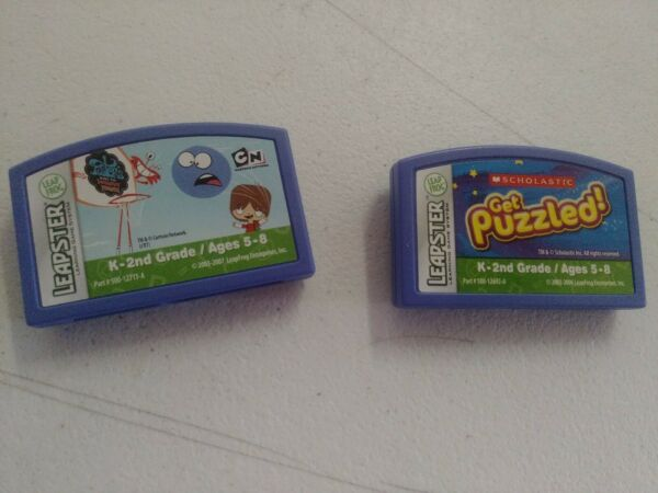 Leap Frog Leapster Cartriges $4.00