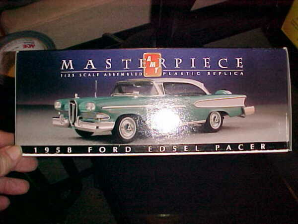 AMT---MASTERPIECE SERIES-------1958 EDSEL