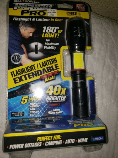 Bell + Howell TacLight Elite PRO, Flashlight & Lantern in One - As Seen on TV!