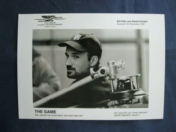 1997 American Movie Actor Glossy Photo Print Film The Game DAVID FINCHER Poster