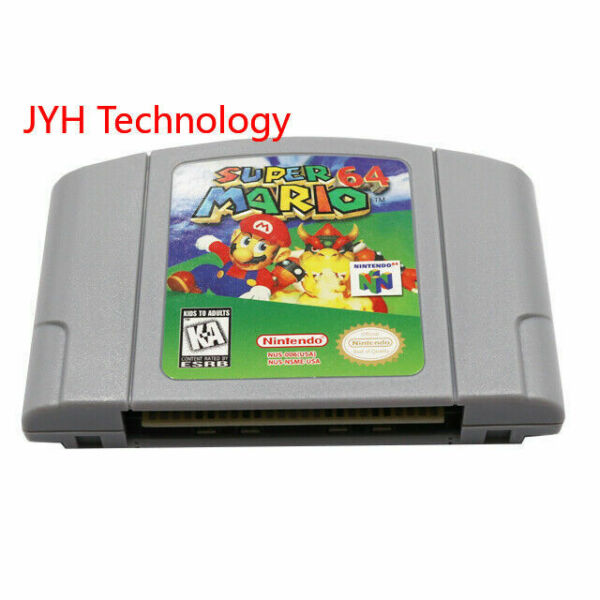 Super Mario 64 Video Game Cartridge Console Card US Version For Nintendo N64 $23.99