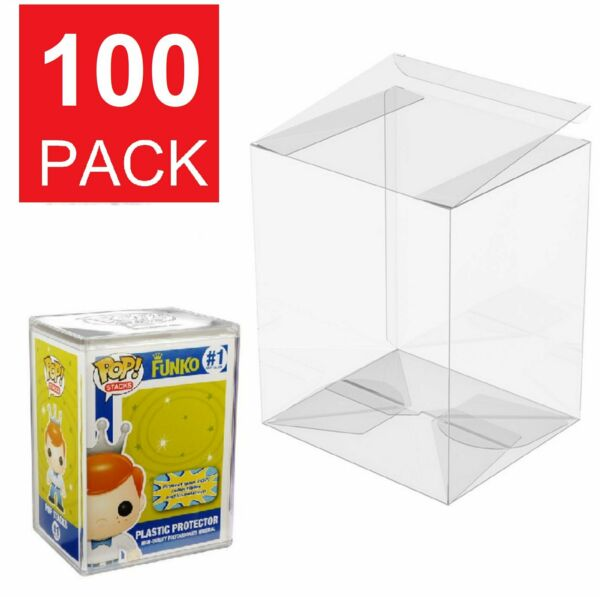 Lot 5 25 50 100 Collectibles Funko Pop Protector Case for 4quot; inch Vinyl Figures $56.45