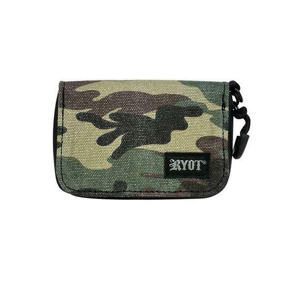 RYOT SmellSafe Soft Shell Krypto Kit Case Bag Smell Proof Lockable Camo $22.99