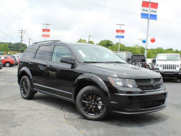 2020 Dodge Journey SE Dodge Journey Pitch Black Clearcoat with 0 for sale!