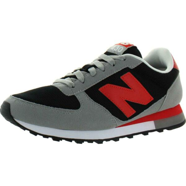 New Balance Men's U430 Suede Low-Top Classic Lifestyle Running Sneakers Shoe