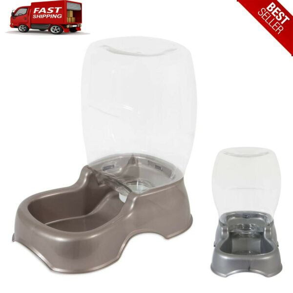 3 Gallon Dog Cat Pet Automatic Water Dispenser Drinking Fountain Large Bowl Dish $27.52