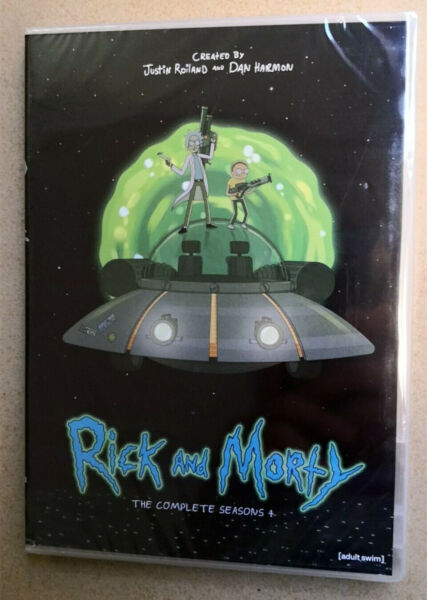 Rick and Morty Season 4 (DVD 2-Disc Set) US SELLER BRAND NEW Fast shipping