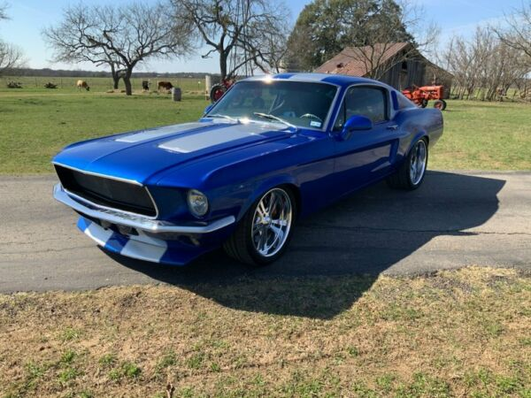 1967 Ford Mustang Daytona Blue Fastback 1967 Ford Mustang Daytona Blue Fastback 19655 Miles Powder Coated Body Coupe 402