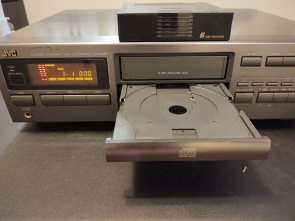 JVC Compact Disc Automatic Changer XL-M409TN with Magazine Tested $92.00