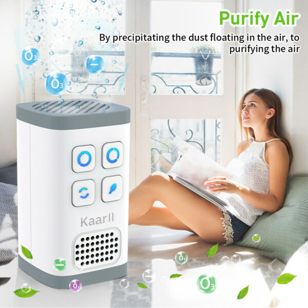 Air Purifier Deodorizer Negative Ion Equipped Outlet Ozone Generator
