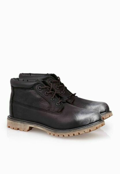 Timberland Women's Nellie Chukka Double Sole Waterproof Black Boots Shoes A12PK $54.95