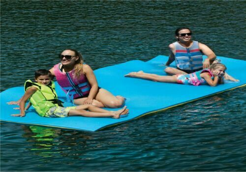 Layer Floating Oasis Water Pad Island Water Sports Mat Float Pad Utility US $321.45