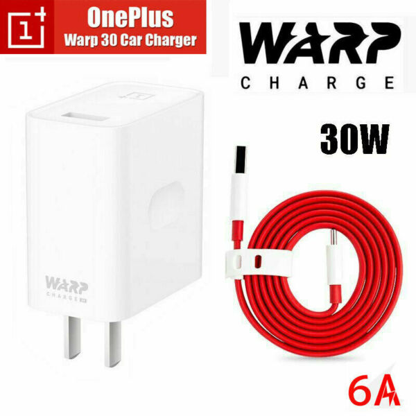 Genuine OnePlus Warp Charge 30W Power Charger Cable For OnePlus 8 7 7T Pro