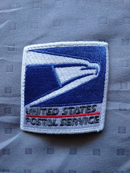UNITED STATES POSTAL SERVICE U.S. MAIL 1 USPS BLUE AND WHITE PATCH 2