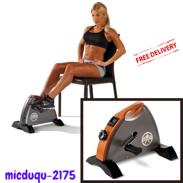 Cardio Mini Cycle Exercise Bike Target Both Upper and Lower Body Muscles NEW $53.81