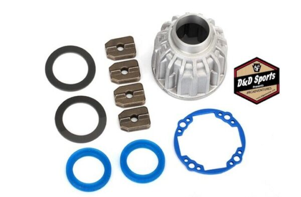 Traxxas 8581X Carrier Differential Aluminum Front Or Center X Ring Gaskets 2 $19.95