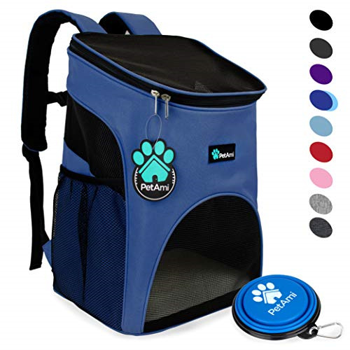 PetAmi Premium Pet Carrier Backpack for Small Cats and Dogs Ventilated Design $32.59