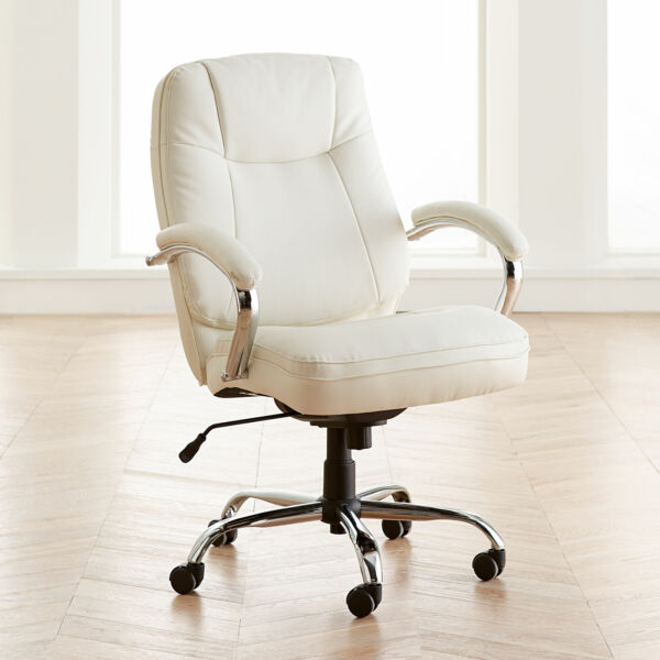 BrylaneHome Extra Wide Women's Office Chair (500 lb. capacity) $349.99