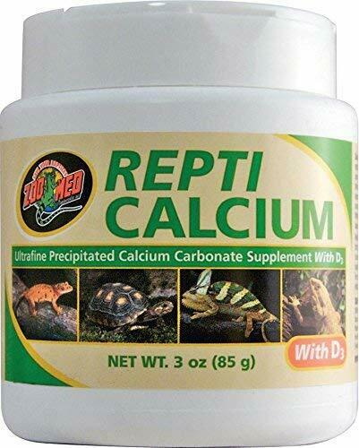 6 Pack Zoo Med Repti Calcium Carbonate Supplement D3 Ultra Fine 3 ounces $29.34