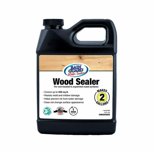 Premium WOOD SEALER Concentrate Makes 2 Gal Clear Natural Finish Silane Si... $38.86