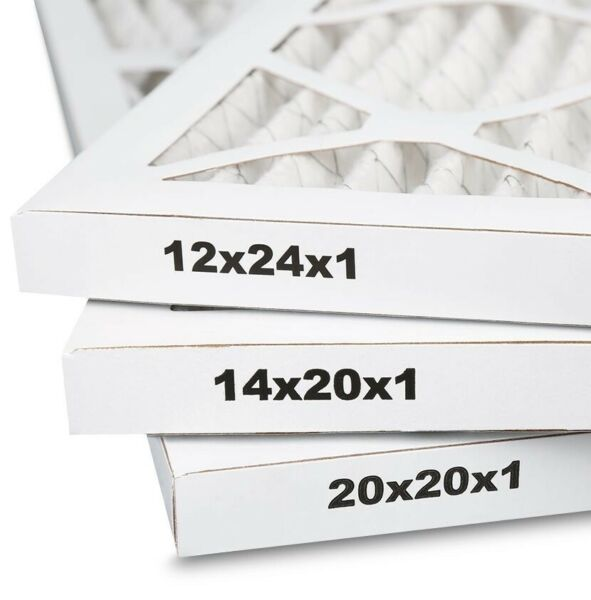 14quot; x 20quot; x 1quot; 12 Pack Merv 8 Pleated HVAC Furnace Air Filters $53.99