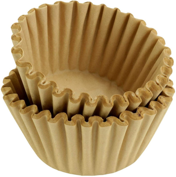 8 12 Cup Basket Coffee Filters Natural Unbleached 500