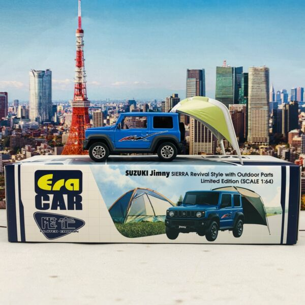 ERA CAR Suzuki Jimny Sierra Revival Style with Outdoor Parts Limited Edition 1 C $16.00
