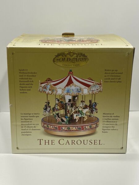 Mr Christmas THE CAROUSEL 30 Songs Carols amp; Songs W Box Music amp; Animation 2003
