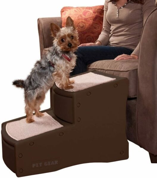 Pet Gear Easy Step II Pet Stairs 2 Step for Cats Dogs up to 150 Pounds