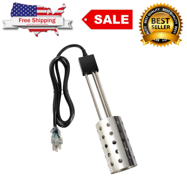 NEW Gesail 1500W Electric Immersion Heater UL Listed Bucket Water Heater $54.99