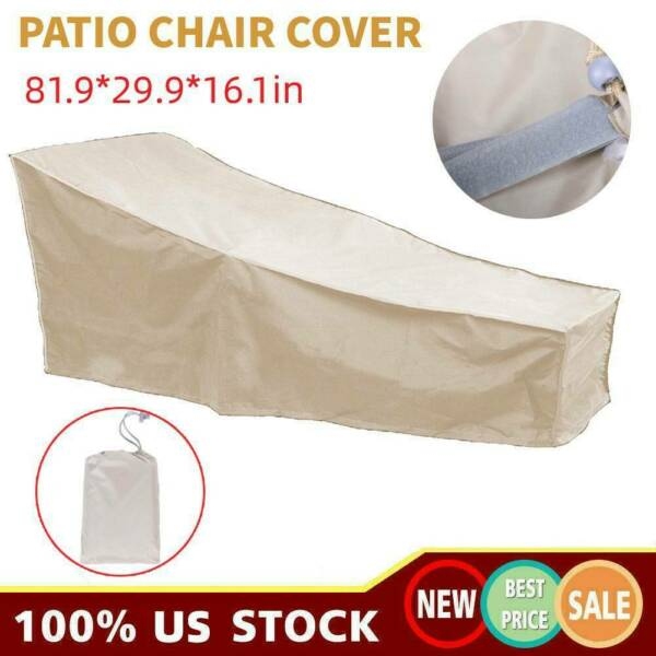 Garden Patio Waterproof Furniture Cover Outdoor Lounge Chair Protection Covers $20.39