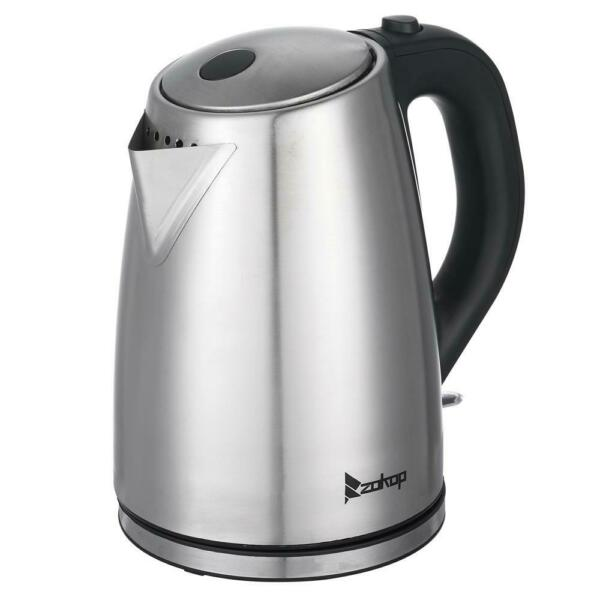 Stainless Steel 1.8L 1500W Electric Auto off Tea Kettle Hot Water Boiler Coffee $17.99