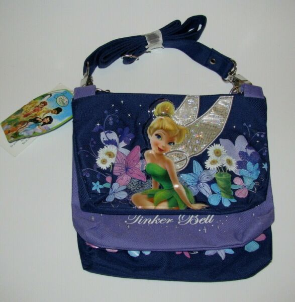 CUTE TINKER BELL TRIPLE PURSE TOTE BAG OFFICIALLY DISNEY LICENSED ITEM NEW $14.99