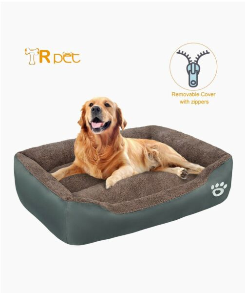 Tr Pet Dog Beds XXL With Removable Cover Brown $15.00