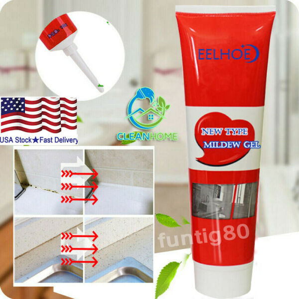 120g Mildew Cleaning Agent Household Tile Cleaner Fungicide Mold Remover Gel USA