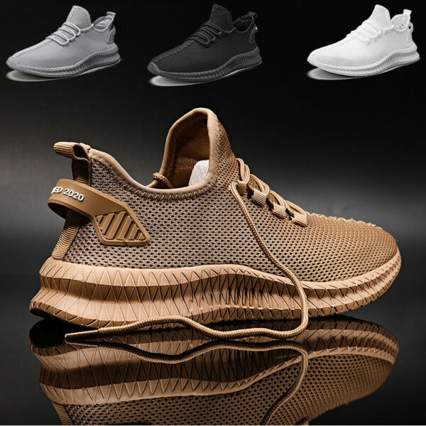 Men#x27;s Casual Athletic Jogging Sneakers Outdoor Spots Running Tennis Gym Shoes