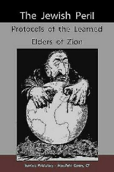 Protocols of the Learned Elders of Zion. by Serg#x27;iei Nilus Paperback book