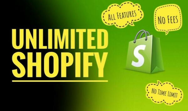 Shopify Account With Unlimited Trial Days 50 premium themes $1400 value
