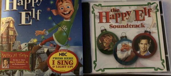 The Happy Elf DVD 2005 And Happy Elf Soundtrack Harry Connick Jr